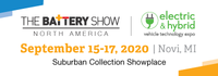 The Battery Show 2020 logo